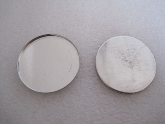58mm. Tinplated Steel Round Pan