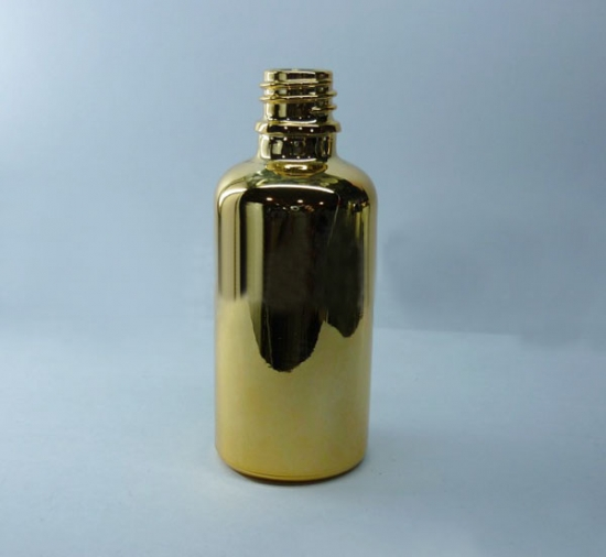 electroplating essential oil bottle