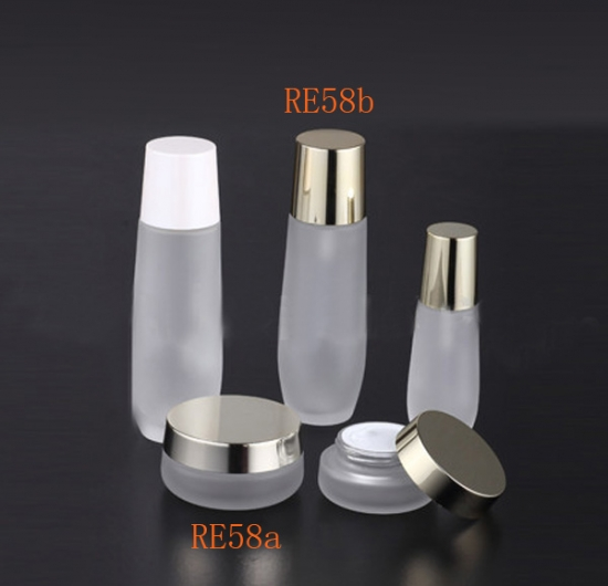 glass skin care bottle