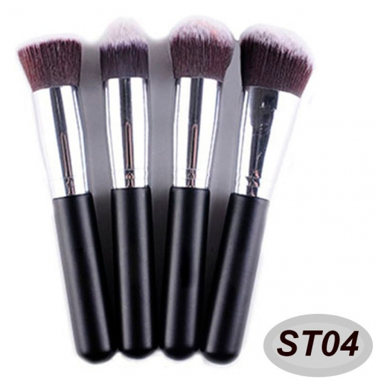 4 pcs high quality makeup brush set